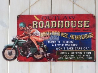 Roadhouse 60x30cm